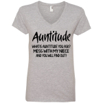 Anvil Ladies' V-Neck T-Shirt