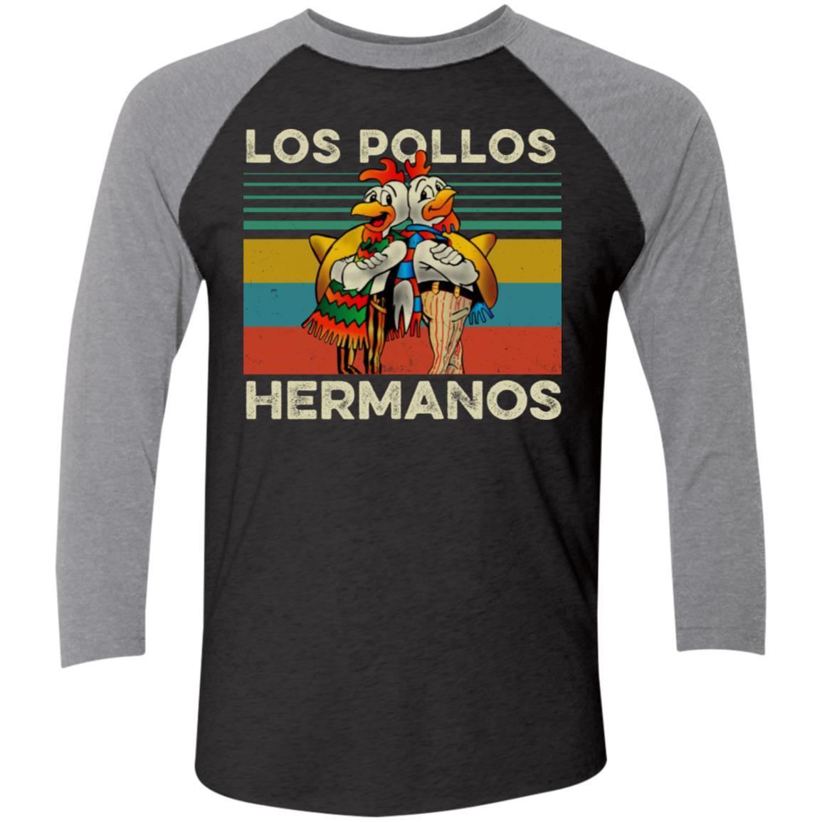 Los Pollos Hermanos T-shirt Better Call Saul Heather Gray shirts S-4XL sizes